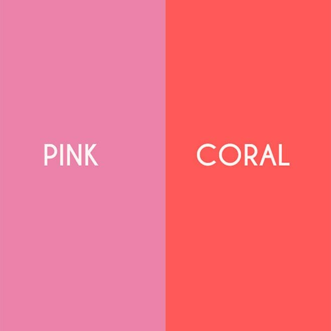 Pink/Coral