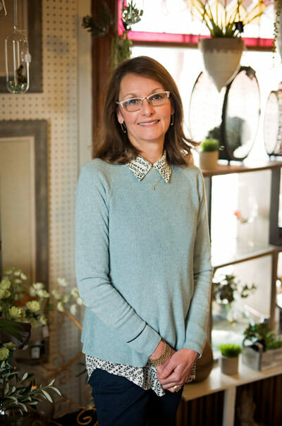 Laura Gluckert, founder and owner.