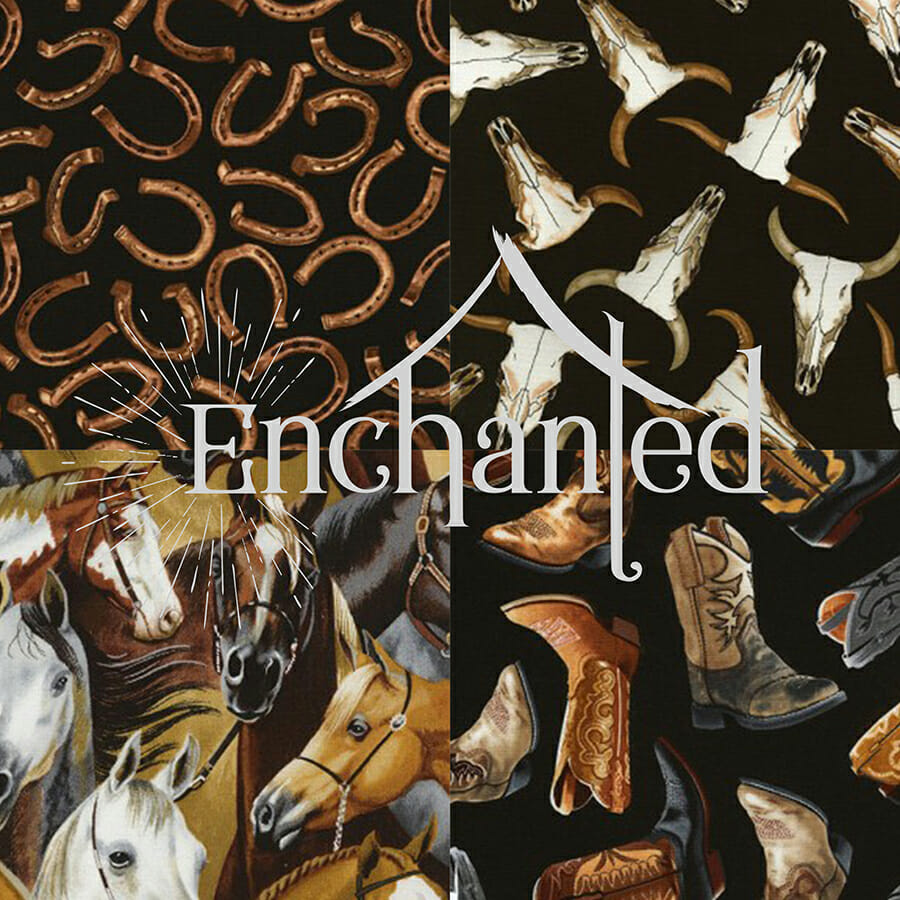 West - Western Quilting Fabric Collection