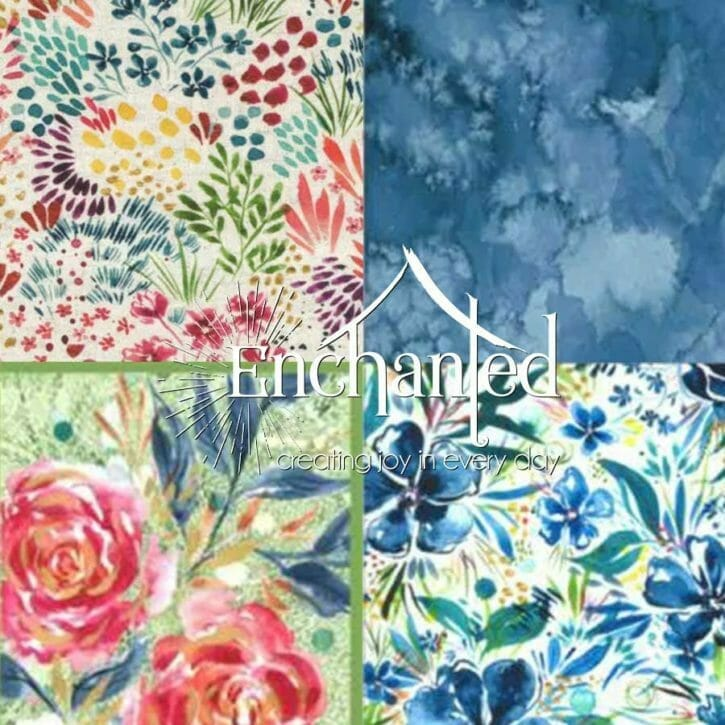 Moody Bloom Fabric Collection