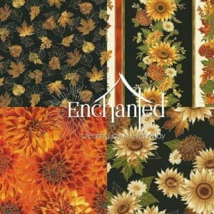 Autumn Bouquet Quilting Fabric Collection