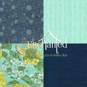 Cottage Bleu Quilting Fabric Collection