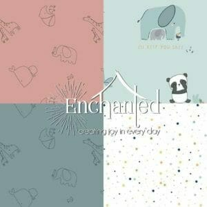 Juvenile Flannel Quilting Fabric Collection