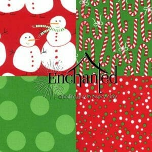 Merry and Bright Quilting Fabric Collection