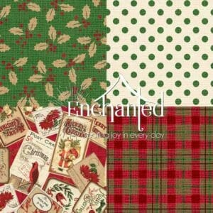 Postcard Holiday Quilting Fabric Collection