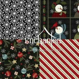 Snowdays Quilting Flannel Fabric Collection