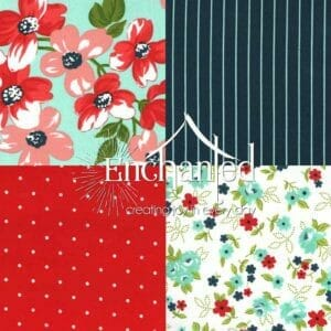 Sunday stroll Quilting fabric collection
